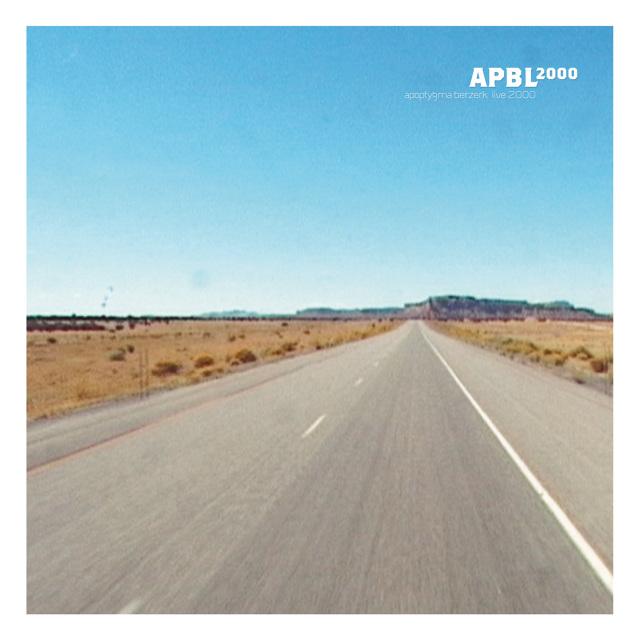 Apoptygma Berzerk - APBL2000 (Cover)