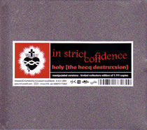 In Strict Confidence - Holy (The Hecq Deconstruction) (Cover)