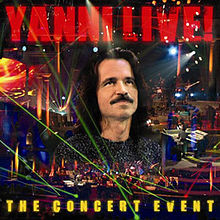 Yanni - Live! The Concert Event (Cover)