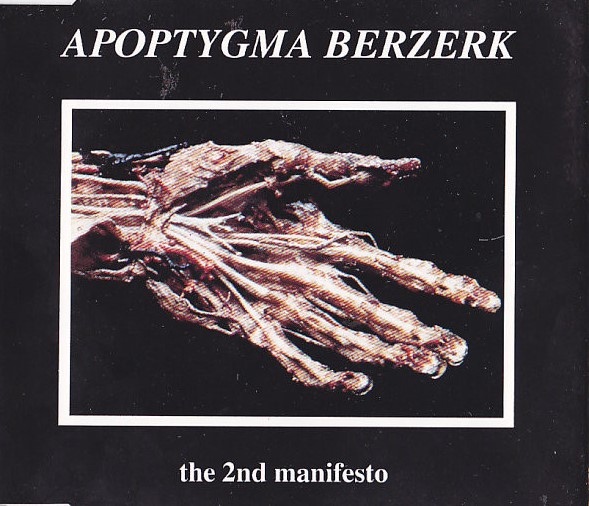 Apoptygma Berzerk - The 2nd Manifesto (Cover)